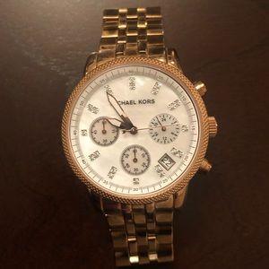 Michael Kors Gold Ladies Watch